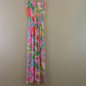 Lilly Pulitzer Target Maxi Dress Nosey Posey S